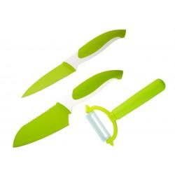 Комплект ножове COLTELLO ЗЕЛЕН 3 ЧАСТИ GRANCHIO